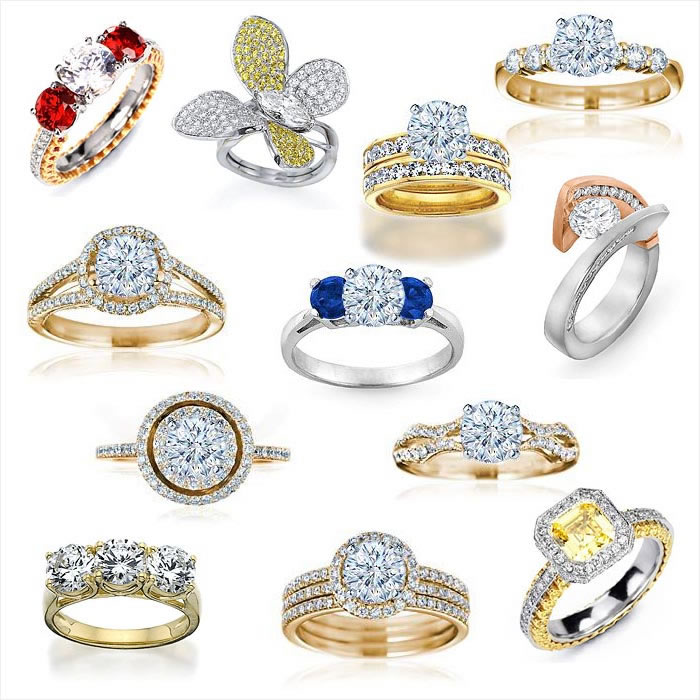 Engagement Rings Collection - Rings
