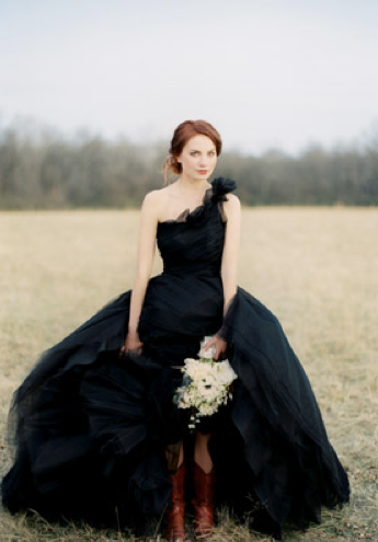 Black Wedding Dress Would You Dare To Wear Tue November 01 2011