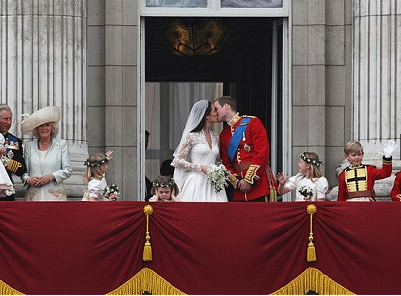 British Royal Wedding, Kate Middleton and Prince William Are Both Regal and Real from jamesallen.com