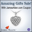 James Allen Amazing Gift Sale Coupon