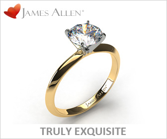 Princess Solitaire Ring